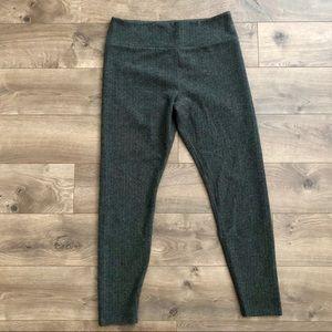 Lou&Grey Herringbone Leggings Size L NWOT